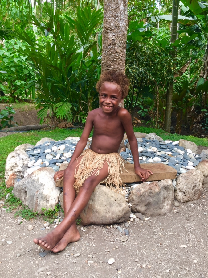 Sweet Dalissa of Lumatapopoho Village in the Solomon Islands. Named after Condoleeza Rice according to her grandfather, Primo.